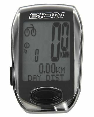 Wireless Bike Bicycle Cycle Computer With Cadence Heart Rate Black