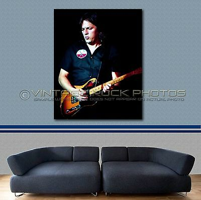 David Gilmour Pink Floyd 16x20 inch Poster Size Photo Live '82 Concert Print  20