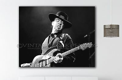 Stevie Ray Vaughan 18x24 inch Fine Art Gallery Canvas Print Framed Photo 50