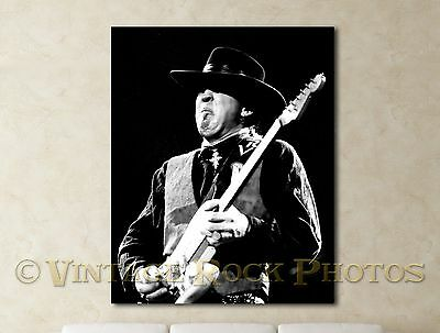 Stevie Ray Vaughan 16x20 inch Fine Art Gallery Canvas Print Framed Photo 7