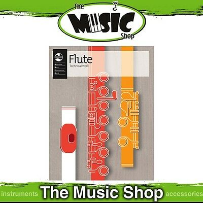 New AMEB Flute Technical Workbook 2012 - Flute Tuition Book