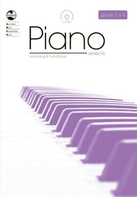 New AMEB Piano Series 16 Recording & Handbook: Grades 3 & 4 Book & CD