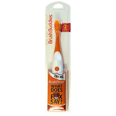 "Ylvis ""The Fox what does the fox say"" Singing Toothbrush Brush Buddies"