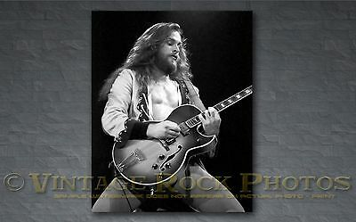 Ted Nugent 16x20 inch Poster Size Photo 80s Concert Print from 35 mm Negative 26