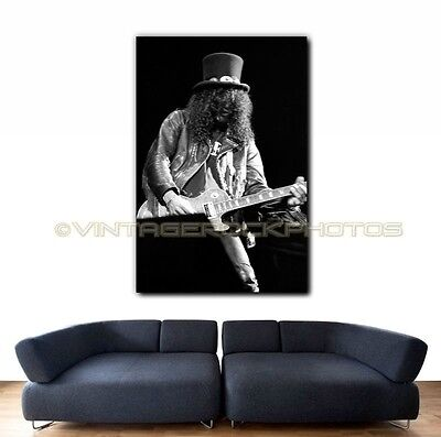 Slash Guns n Roses 20x30 inch Poster Size Photo Live 80's Concert Pro Print   2