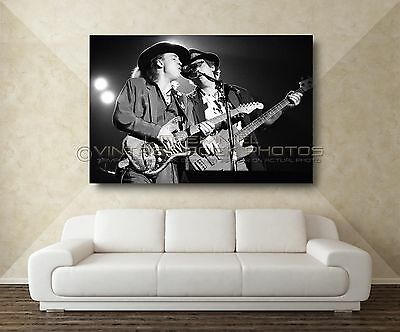 Stevie Ray Vaughan 20x30 inch Poster Size Photo Live '80s Concert Pro Print  L21