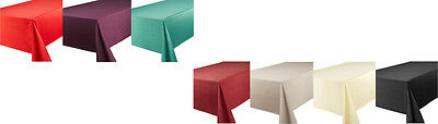 Luxury Faux Silk Tablecloth Table Linen Napkins Placemats Table Runner All Sizes