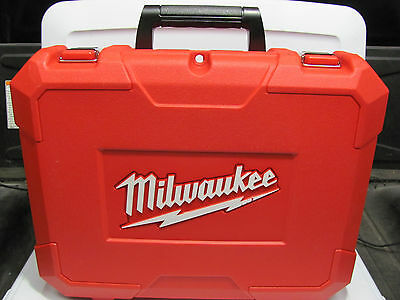 """NEW Plastic Carrying Case Milwaukee  For 1/2"""" Cordless M28 0726-20 28 Volt Drill"""