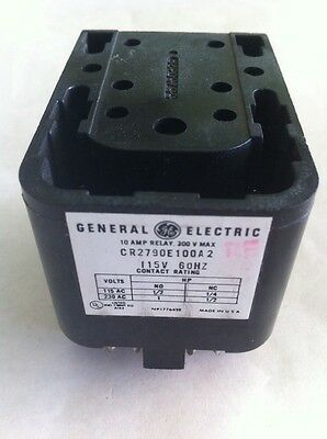 GE General Electric General Purpose Relay CR2790E100A2