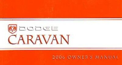 2006 dodge caravan minivan owners manual user guide 23 17 picclick rh picclick com 2006 dodge grand caravan owner's manual 2006 dodge grand caravan sxt owners manual