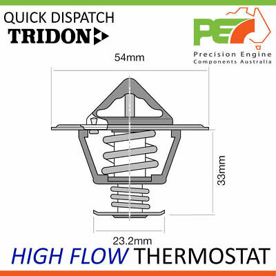 New Genuine * TRIDON * High Flow Thermostat For Holden Rodeo (Diesel) RA03 - TD