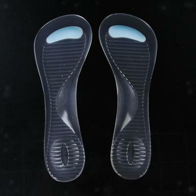 Arch & Metatarsal Gel Pad Sore Ball of Foot Pain Relief High Heel Shoes Insoles