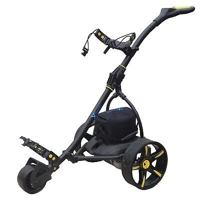 'X'Sports Electric Folding Golf Trolley. 35Ah 200w. RRP £399. Free Accessory Pk