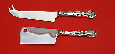 French Scroll by Alvin Sterling Silver Cheese Server Serving Set 2P HHWS Custom