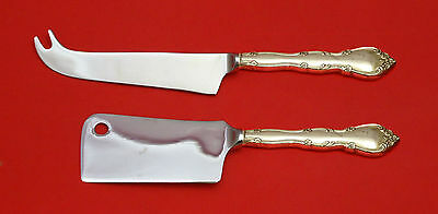 Rose Tiara by Gorham Sterling Silver Cheese Server Serving Set 2pc HHWS  Custom