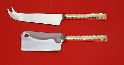 Madrigal by Lunt Sterling Silver Cheese Server Serving Set 2pc HHWS  Custom Made