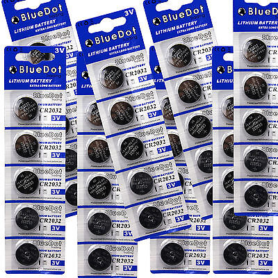Fresh Date 40 PACK ~ 2032 Lithium 3v Cell Watch Battery CR2032 DL2032 USA SHIP