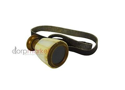 Handmade Brass Opera Glasses Figure One Fold Telescope From mother of  Pearls