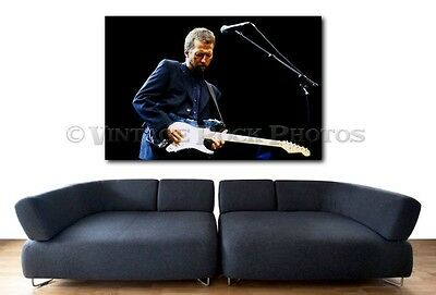 Eric Clapton 20x30 inch Fine Art Gallery Canvas Print Photo Framed Gilcee 2