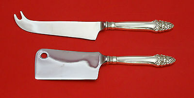Sovereign Old by Gorham Sterling Silver Cheese Srvr Serving Set 2P HHWS  Custom