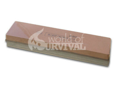 Japanese Ice Bear Waterstone 250 / 1000 Grit Water Stone 205 x 50 x 25mm