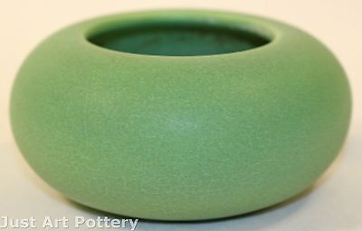 Rookwood Pottery 1909 Matte Green Bowl 214