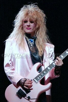 Nancy Wilson Heart Photo 8x12 or 8x10 inch Live '80s Concert from Negative 28