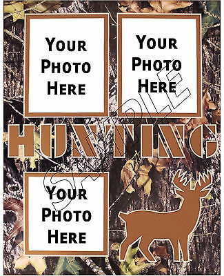 Hunting Photo Frame Personalized Print Birthday Gift