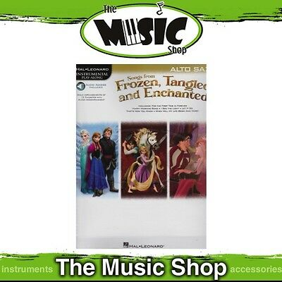 New HL Play Along: Songs from Frozen Tangled & Enchanted for Alto Sax Music Book