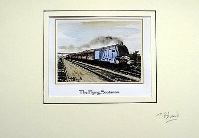 KUNSTDRUCK - The Flying Scotsman.