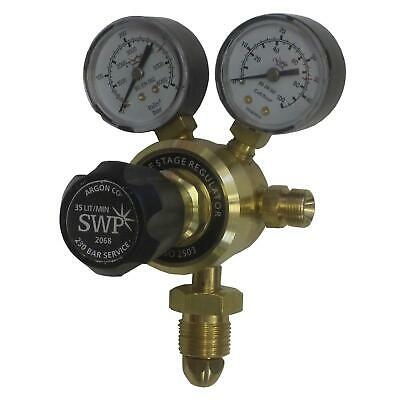 Argon CO2 MIG Regulator Single Stage 2 Gauge