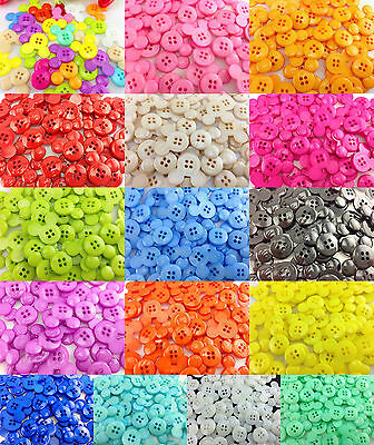 NEW 30PCS/150PCS Cute Mickey Plastic  Button Fit Sewing or Scrapbook 23.00mm