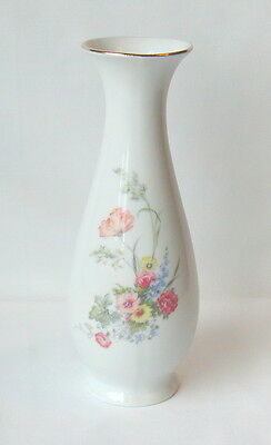 "Royal Porzellan Bavaris KPM Germany 8"" Floral Vase"