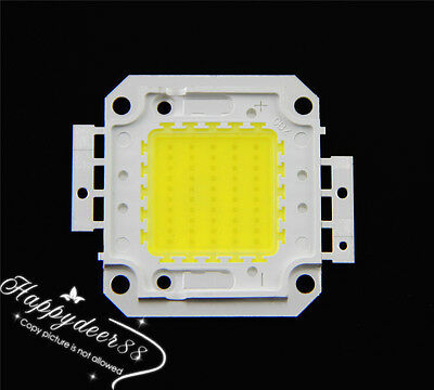 1PCS 50W Cool White High Power SMD LED Lamp Chip Bright Bulb Flood Light