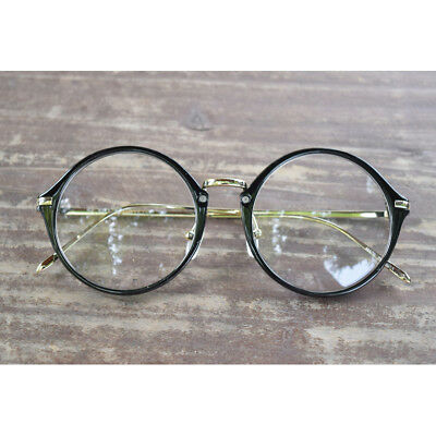 1920s Vintage eyeglasses oliver retro round frames 17R33 Black kpop peoples find