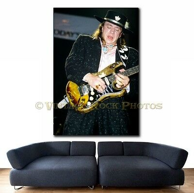 Stevie Ray Vaughan Poster 20x30 inch Pro Canon Photo '80s Live Concert Print 51