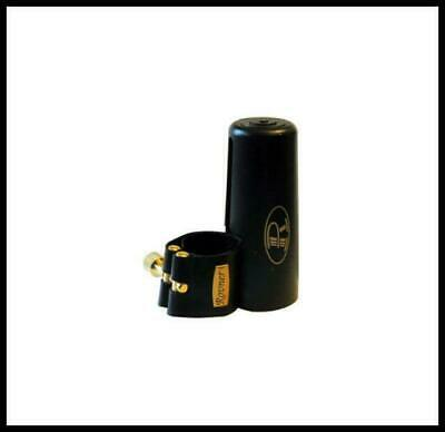 Rovner Mark III Ligature & Cap C1RL -  For Rubber & Plastic alto sax mouthpiece