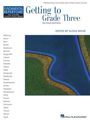 New HLSPL Getting to Grade 3 Music Book - Hal Leonard Student Piano Library