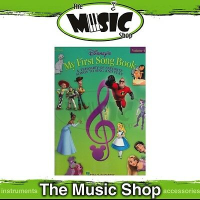 New Disney's My First Song Book: Volume 4 Music Book for Easy Piano