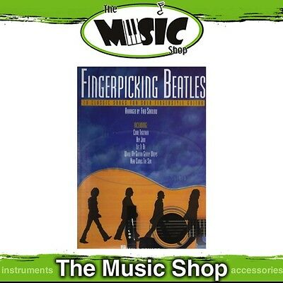 New Fingerpicking Beatles for Guitar Music Book - Includes Tab