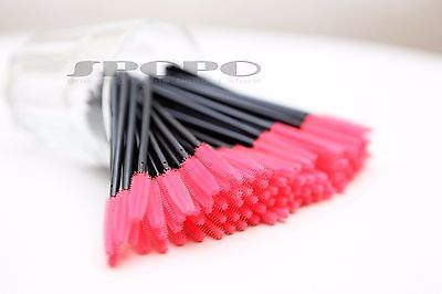 Silicone Makeup Brush Mascara Wands Eyelash Disposable Tapered  25/50/100/500