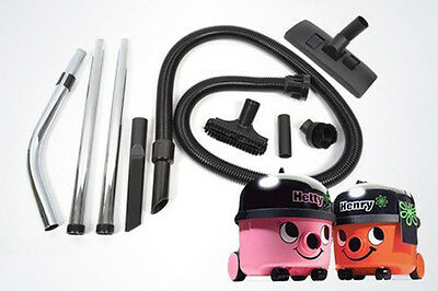 Numatic Henry Hoover Vacuum Cleaner Full Tool Kit 1.8m Hose  Rods Spare Tools