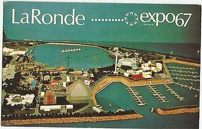 Vintage Old Photo Postcard Gyrotron at Montreal Quebec Canada EXPO 1967 Photo