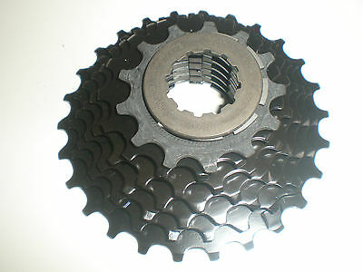 Shimano HG50 7 speed cassette all ratio's