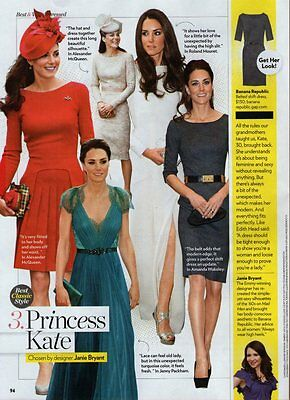 2012 Picture Clipping (1 page)  ~  PRINCESS KATE   /J