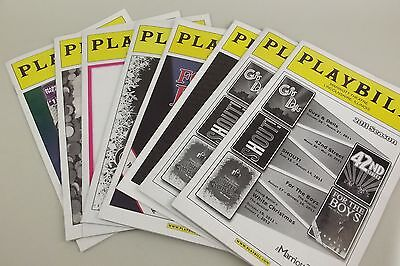 8 Playbill Chicago Marriott Lincolnshire Theatre 2011 2012 Magazine Program