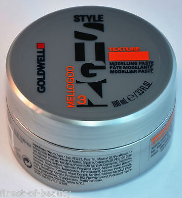 GOLDWELL Style Sign Texture MELLOGOO Modelling Paste 100ml (12,99€/100ml) !TOP!