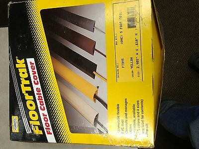 nib hubbell ft3y5 floor trak yellow cable cover 5 39 floor cable cover. Black Bedroom Furniture Sets. Home Design Ideas
