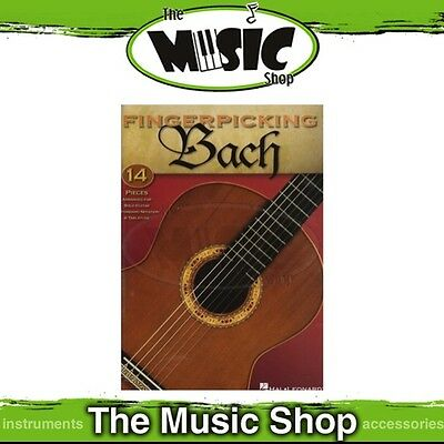 New Fingerpicking Bach for Guitar Music Book - Includes Tab