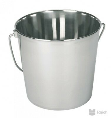 Stainless Steel Bucket Capacity Approx. 5,7 Liter New